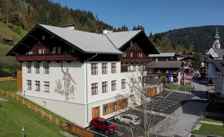 In Oberau hat die Gemeindeverwaltung moderne Amtsräume erhalten.