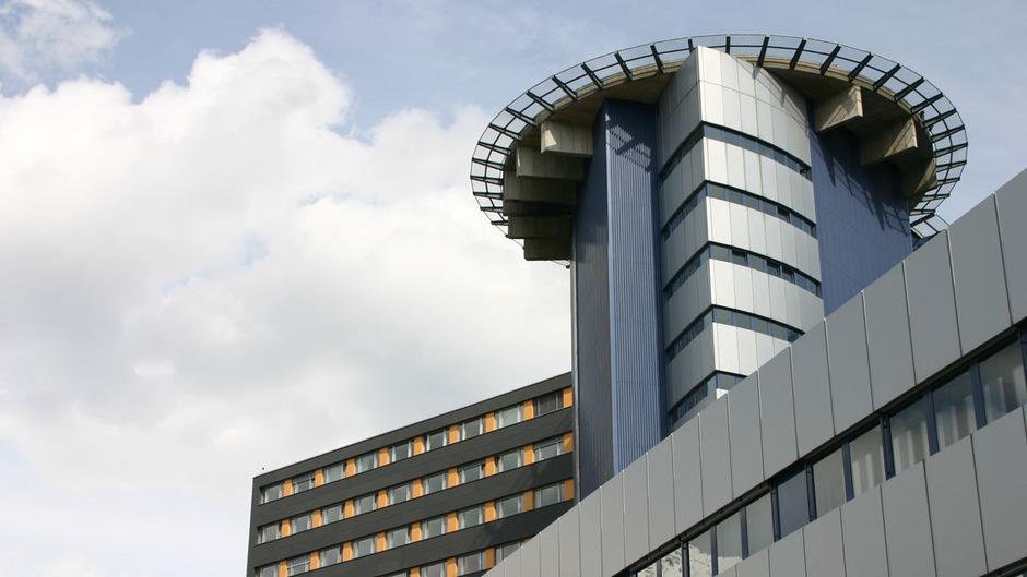 Die Innsbrucker Klinik.