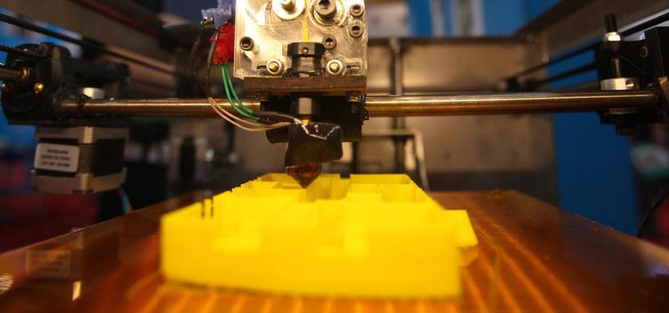 """3D-Drucker können auch Waffen """"drucken"""". (Symbolfoto)."""