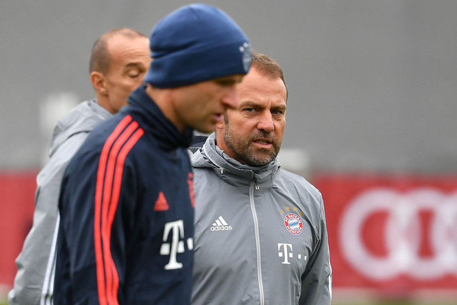 Interimstrainer Hansi Flick setzt gegen Olympiakos auf Thomas Müller.