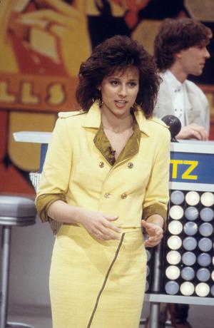 """Vera Russwurm 1988 in der Sendung """"Was wäre wenn""""."""