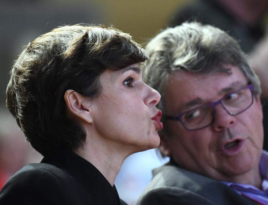 """Brauchen einander """"wie einen Bissen Brot"""": SPÖ-Chefin Pamela Rendi-Wagner und ÖGB-Boss Wolfgang Katzian."""
