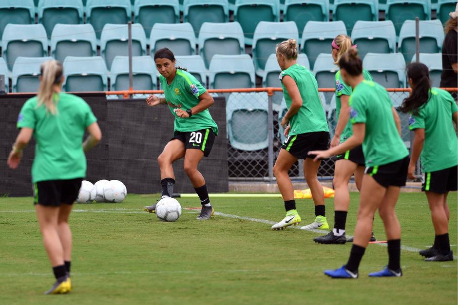 Australiens Fußballerinnen wurden ihren männlichen Kollegen finanziell gleichgestellt.