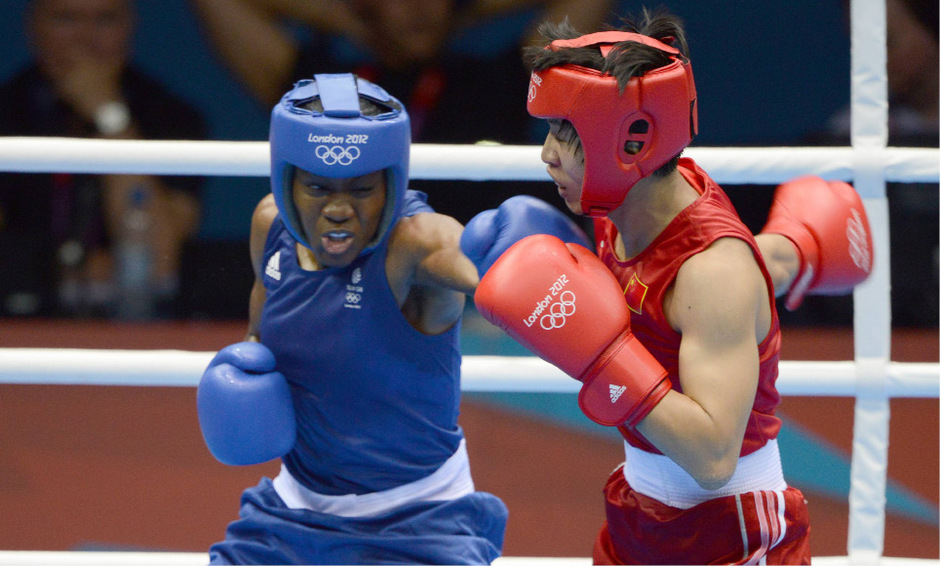 Nicola Adams eroberte 2012 und 2016 Olympiagold im Boxen.