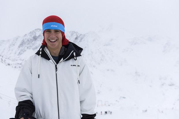 Daniel Bacher: 14 Jahre jung, unbekümmert, steht vor seinem Weltcup-Debüt.