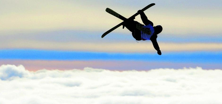 Über den Wolken: Der Stubaier Gletscher erhielt zuletzt einiges an Schnee – die richtige Kulisse für den anstehenden Slopestyle-Weltcup.