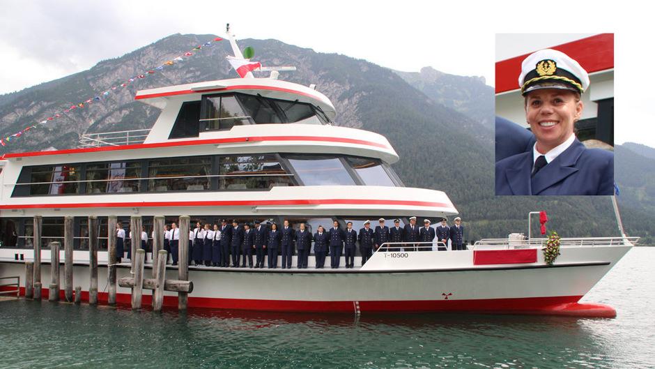 Die Crew der MS Achensee muss künftig ohne Kapitänin Daniela Neuhauser in See stechen.