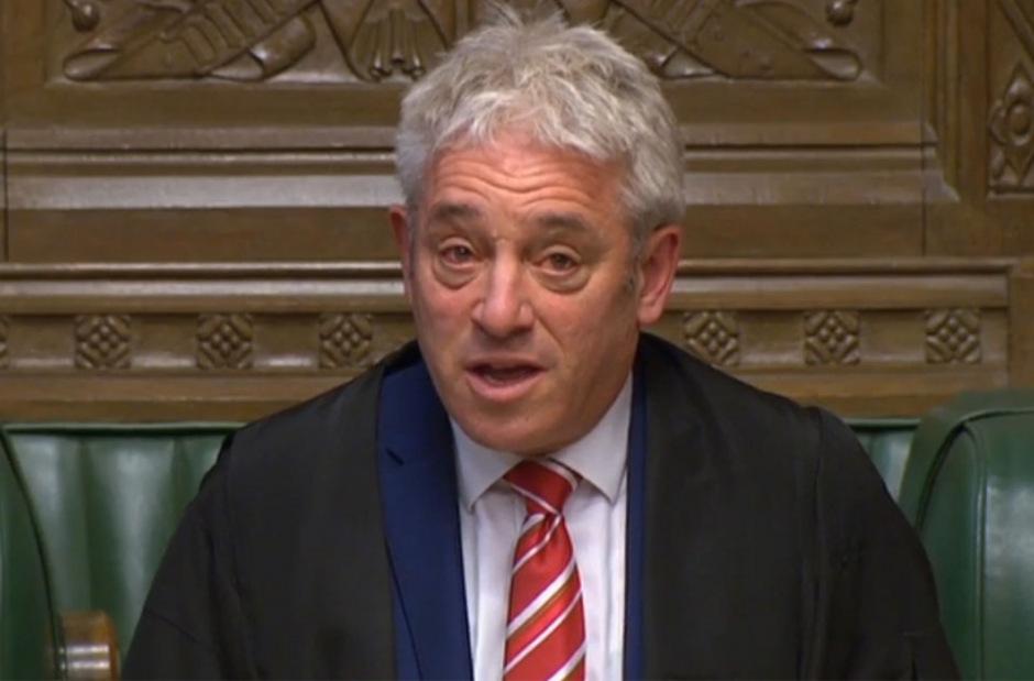 John Bercow hat am 31. Oktober als Präsident des Unterhauses Abschied genommen.