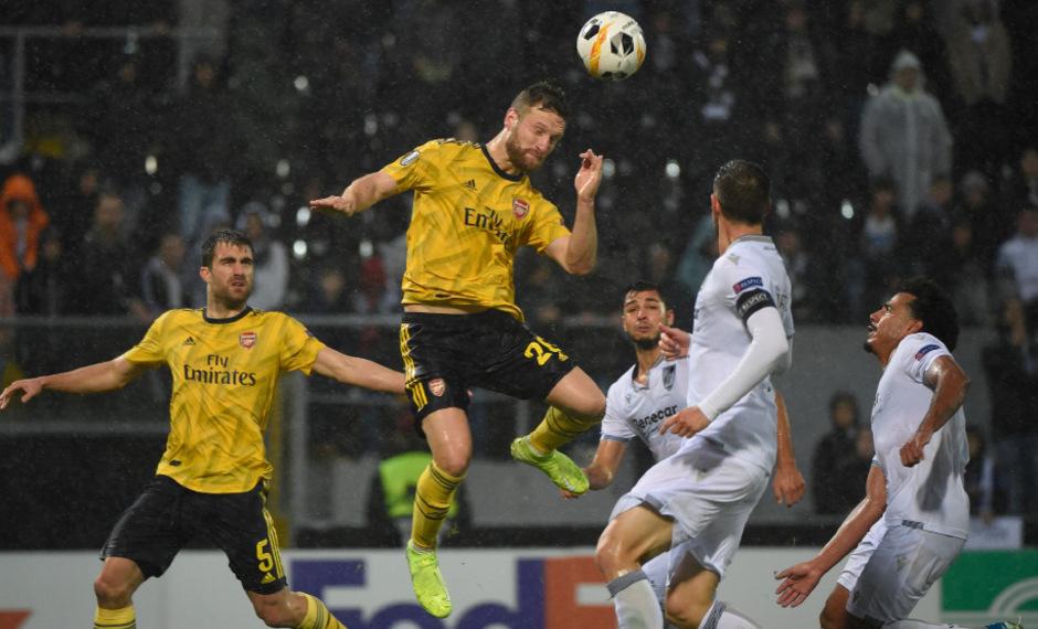 Shkodran Mustafi brachte den Premier-League-Club in der 80. Minute in Führung.