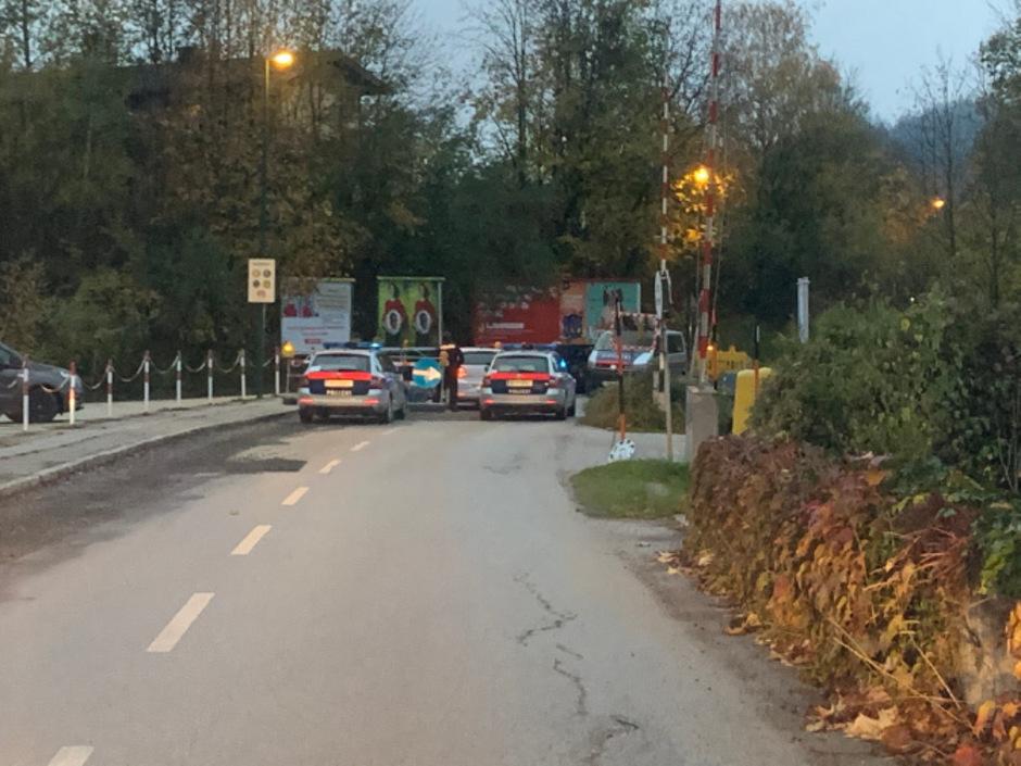 In einem Baustellenbereich in Kufstein wurden die Verdächtigen von der Polizei gestoppt.