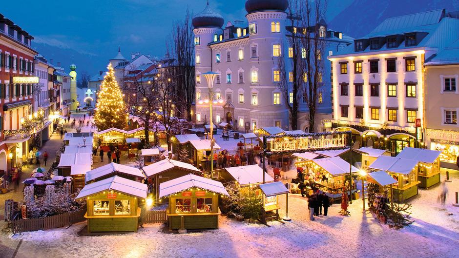 Christkindlmarkt in Lienz.