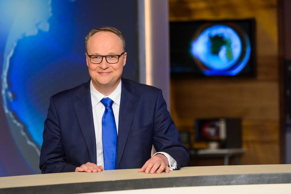 """heute-show""- Moderator Oliver Welke."