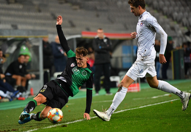 Murat Satin kämpft wie ein Löwe und verwandelte einen Elfmeter zum zwischenzeitlichen 2:2.