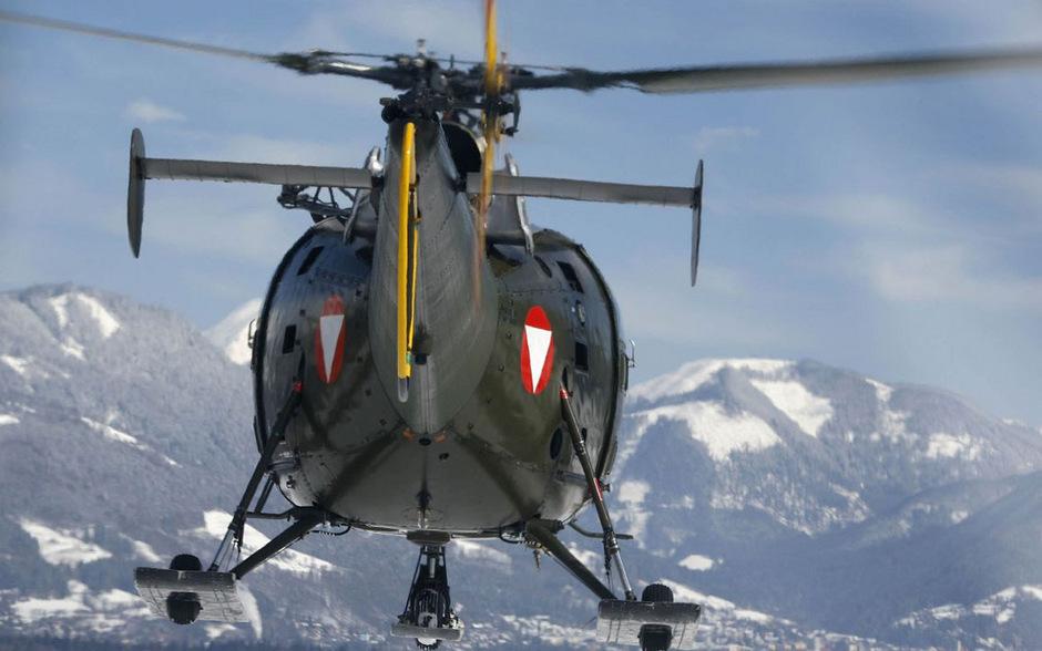 Ein Hubschrauber des österreichischen Bundesheeres. (Symbolfoto)