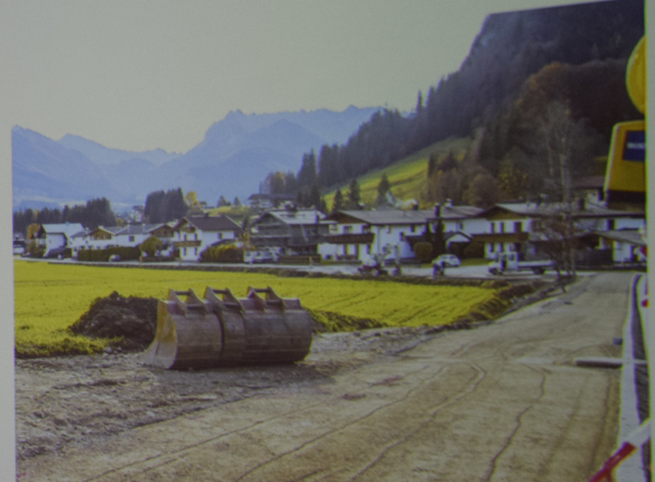 Bei der öffentlichen Gemeindeversammlung in Kössen wurde der Wegbau vorgestellt.