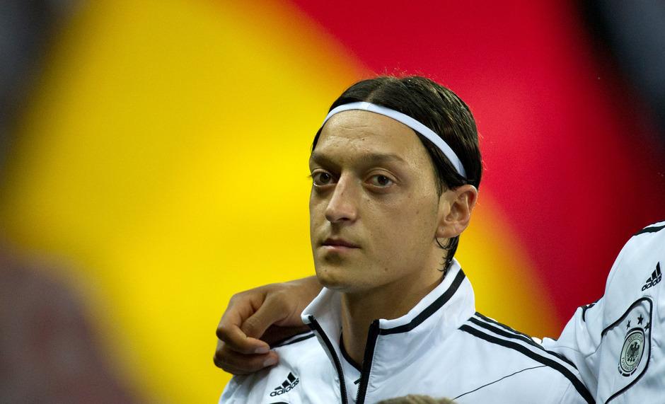 Der Fußballer Mesut Özil.