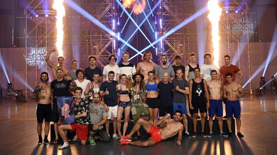 """Die 27 Finalisten von """"Ninja Warrior Germany""""."""
