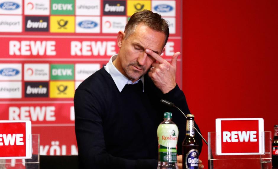 Die Ära Beierlorzer ging beim 1. FC Köln schnell wieder zu Ende.