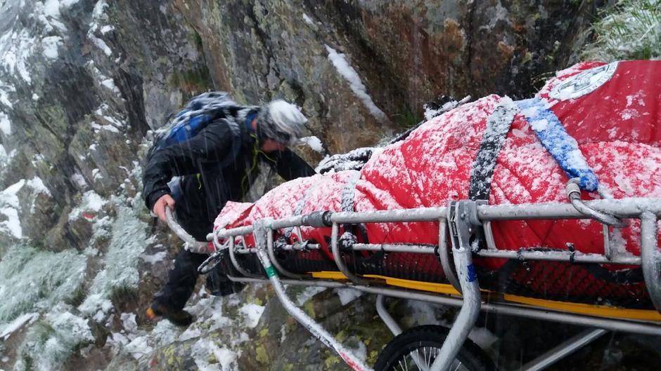 Die Herausforderungen für die heimischen Bergretter werden immer schwieriger. (Symbolfoto)
