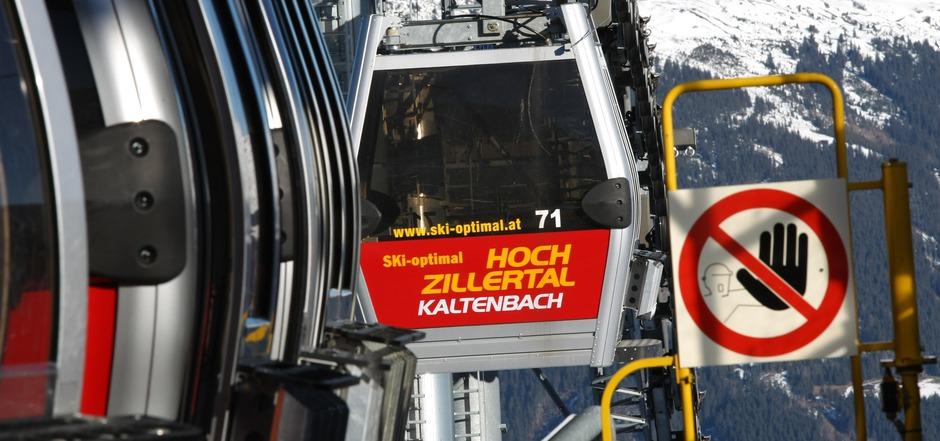 """""""Stopp"""", heißt es von der Behörde für die konsenslos errichtete Skipiste im Skigebiet Hochzillertal."""