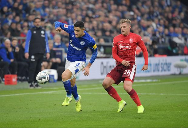 Rouwen Hennings erzielte beim 3:3 gegen Schalke alle Düsseldorfer Treffer.