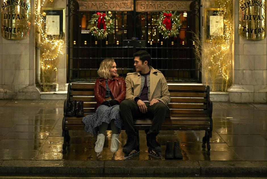 """Im Kinofilm """"Last Christmas"""" spielt Emilia Clarke """"Kate"""" ."""
