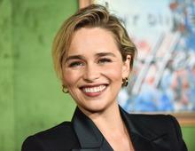 """Die britische Schauspielerin Emilia Clarke wurde durch ihre Rolle als Khaleesi in der Serie """"Game of Thrones"""" bekannt."""