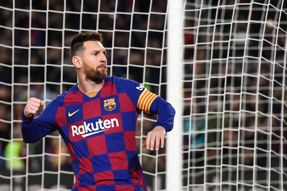 Held des Abends im Camp Nou war wieder einmal Lionel Messi.
