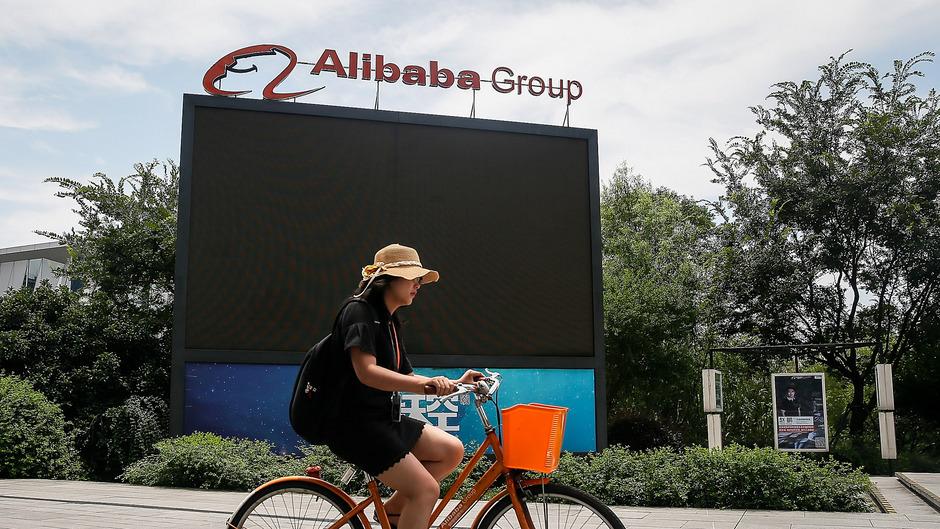 Alibaba gilt als größter Konkurrent für den Online-Riesen Amazon.