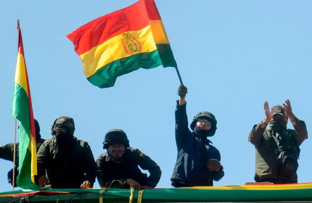 Der Protest in Bolivien nimmt immer mehr zu.
