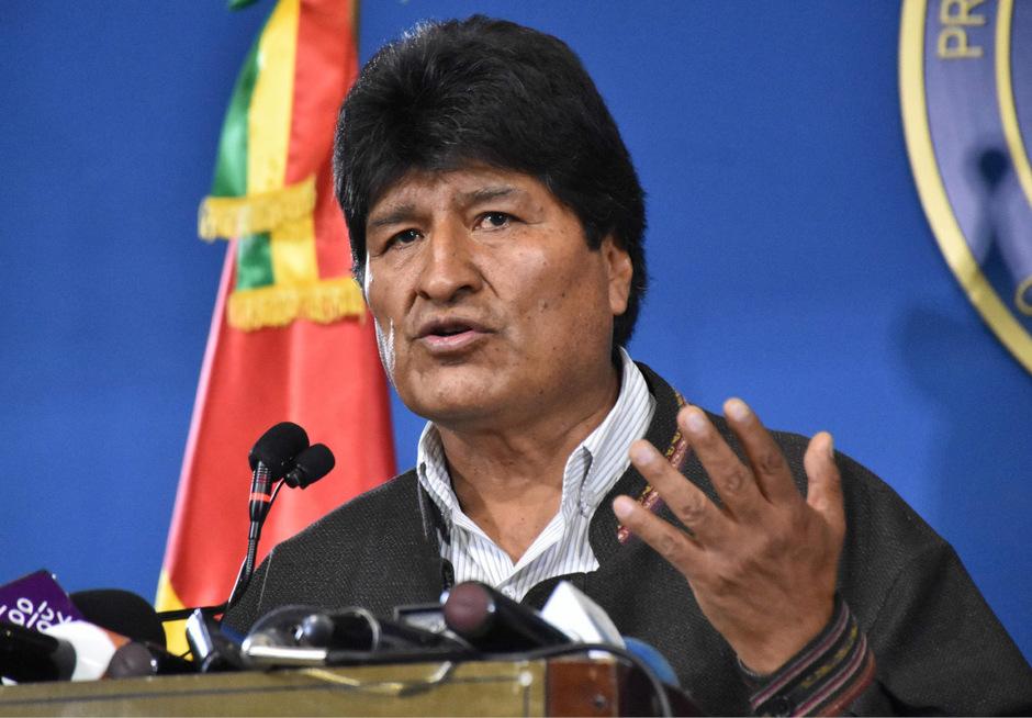 Der Druck auf Präsident Morales steigt.