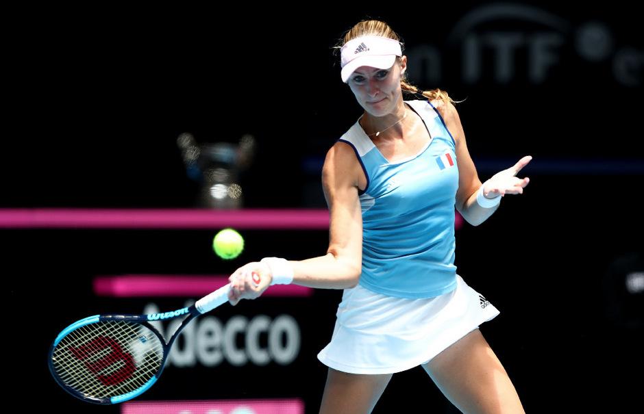 Kristina Mladenovic holte mit Frankreich den Fed-Cup-Titel.
