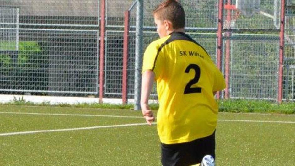 Der Verein blieb der gleiche, die Rückennummer 2 auch: David Franzelin, früher Damen-Fußballer.