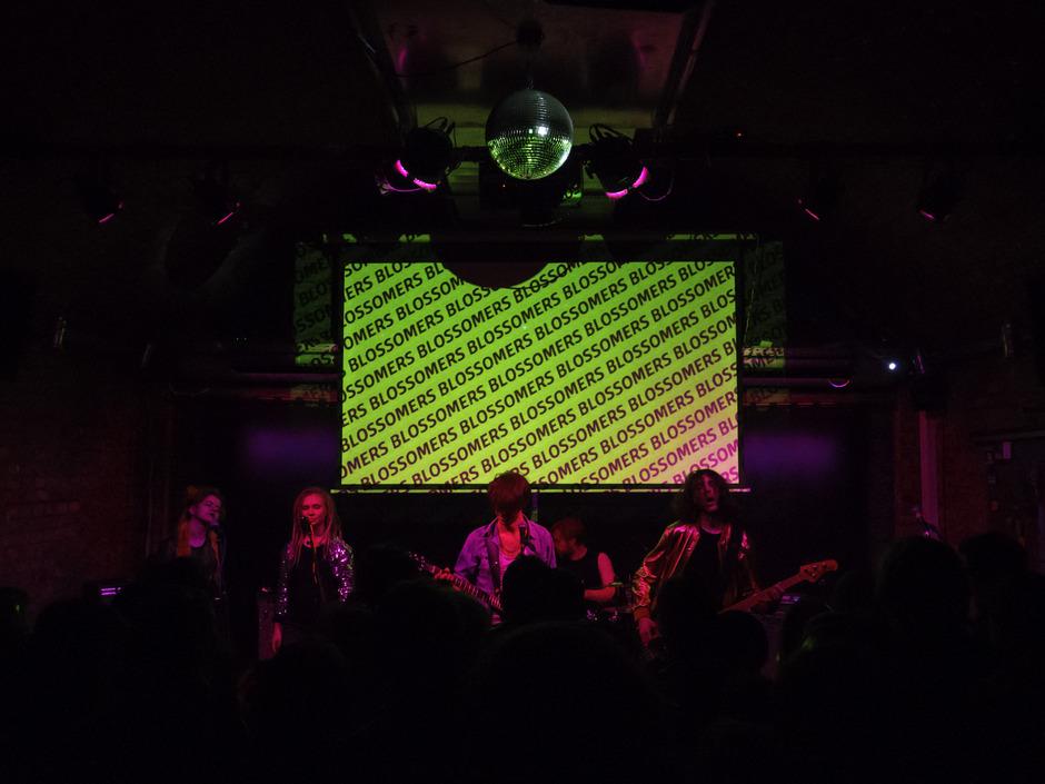 """Die """"Blossomers"""" bei einem ihrer Auftritte. Ihre Wurzeln haben sie in der Rockmusik."""