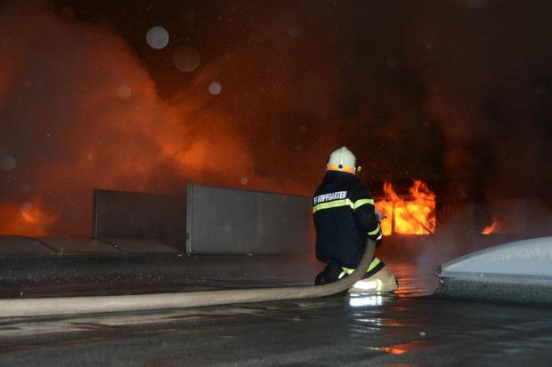 Die Brandursache konnte bisher noch nicht identifiziert werden.