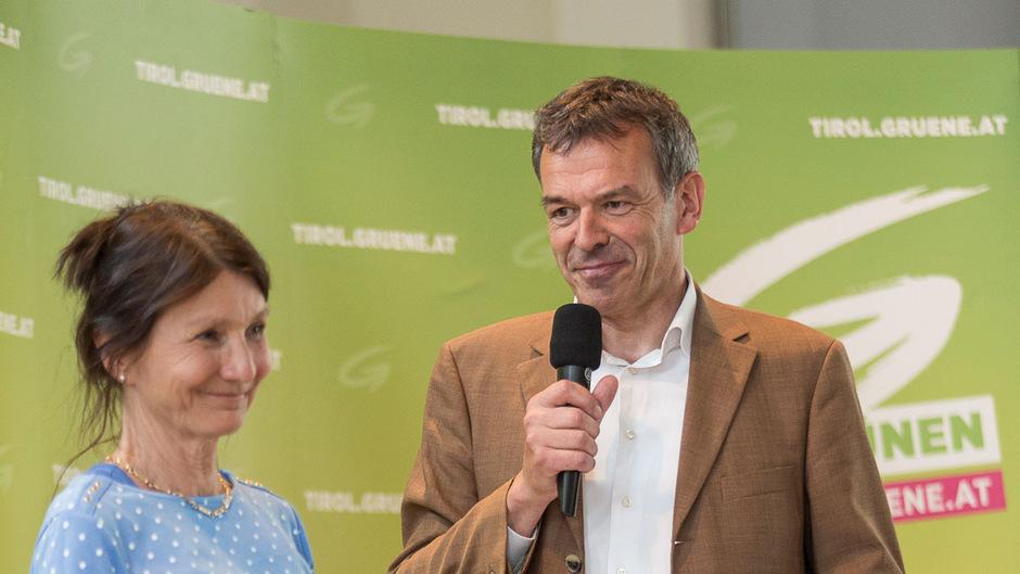 Jetzt also doch: Uschi Schwarzl wird die Stellvertreterin von BM Georg Willi.