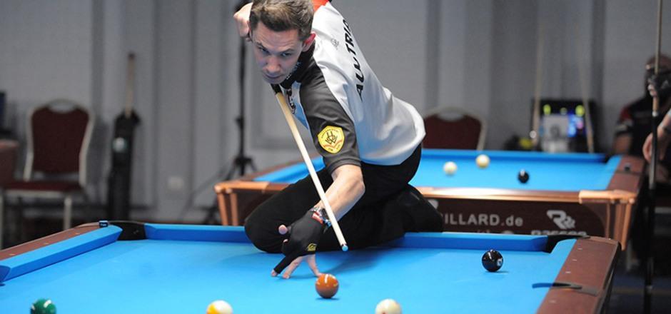 Siege gegen den Weltmeister und den Weltranglisten-Ersten: Maximilian Lechner schlug in Norfolk die Elite.