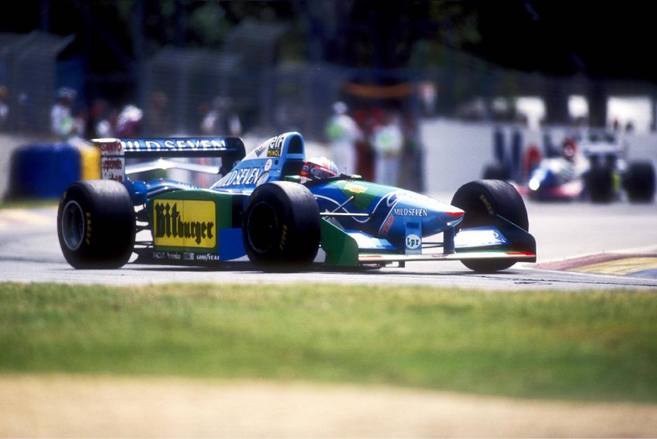 Michael Schumacher eroberte 1994 seinen ersten WM-Titel.