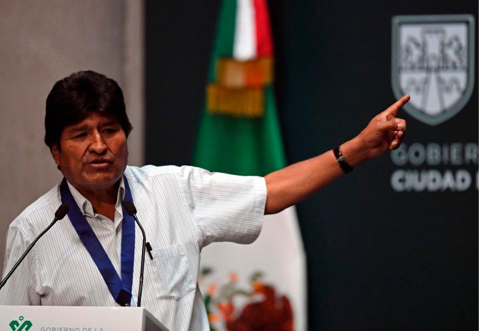 Morales rief zu einem nationalen Dialog für ein Ende der Gewalt in Bolivien auf.