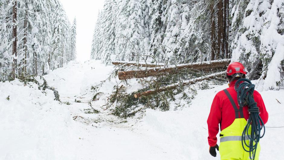 Wegen der heftigen Schneefälle wurden in einigen Osttiroler Tälern Stromleitungen beschädigt. Es kam zu Stromausfällen.