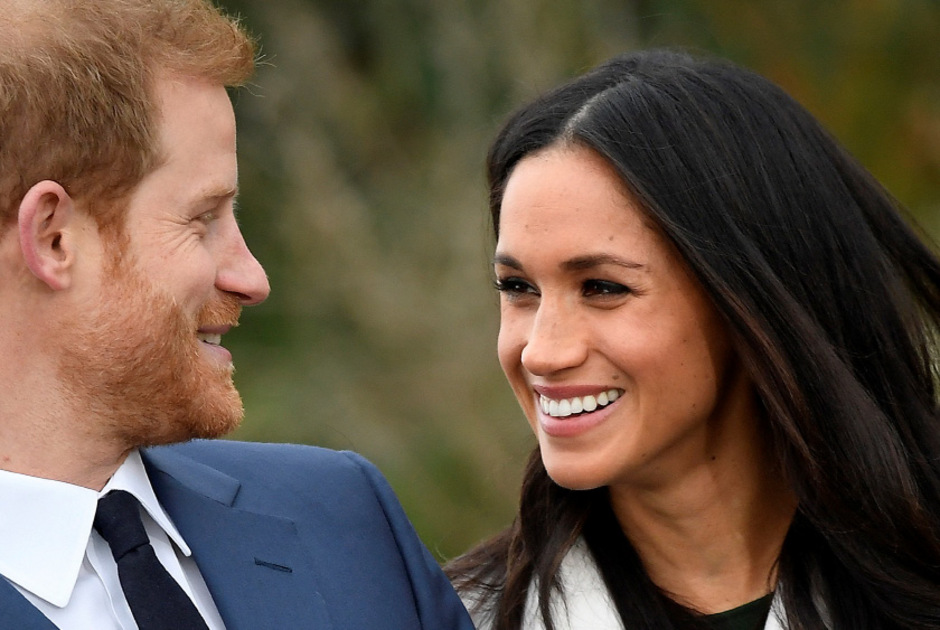 Prinz Harry und seine Ehefrau Meghan.