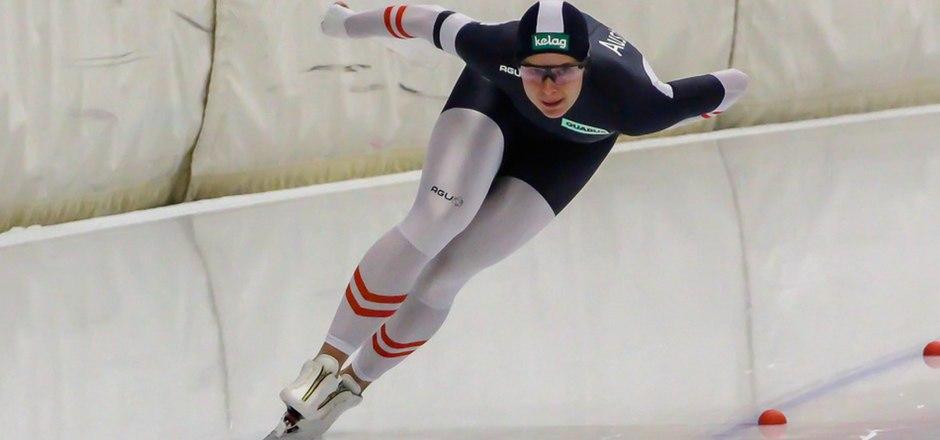 Nimmt im Hinblick auf den Weltcup-Auftakt Fahrt auf: die Tirolerin Vanessa Herzog.
