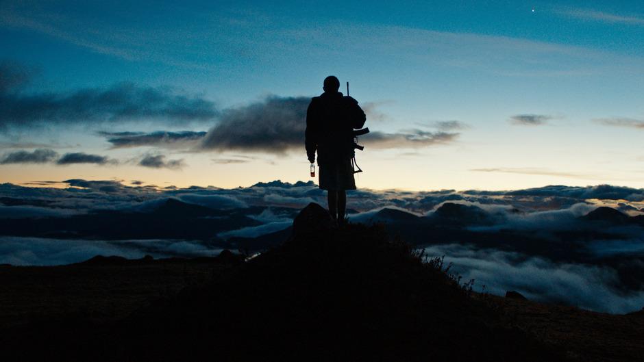 """In den Anden auf fast 4000 Metern beginnt Alejandro Landes seinen Film """"Monos"""". Dann geht's tief in den Dschungel."""