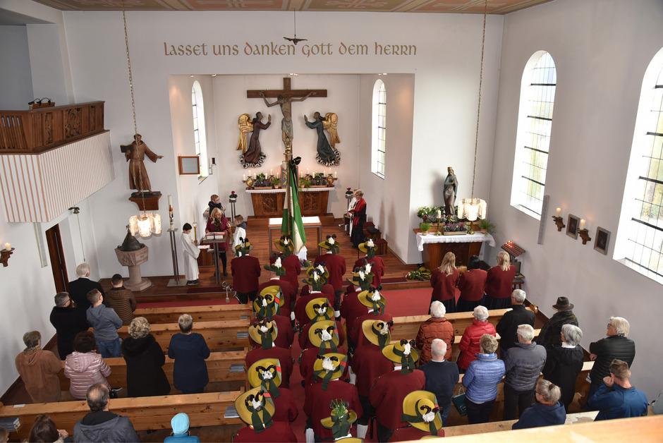 Kriegergedenken: Im Seelsorgeraum Westliches Mittelgebirge findet pro Monat je Gemeinde ein Wortgottesdienst statt.