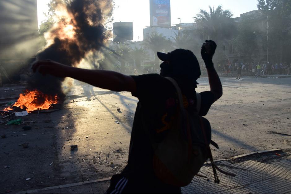 Chile wird seit Wochen von heftigen Protesten erschüttert.