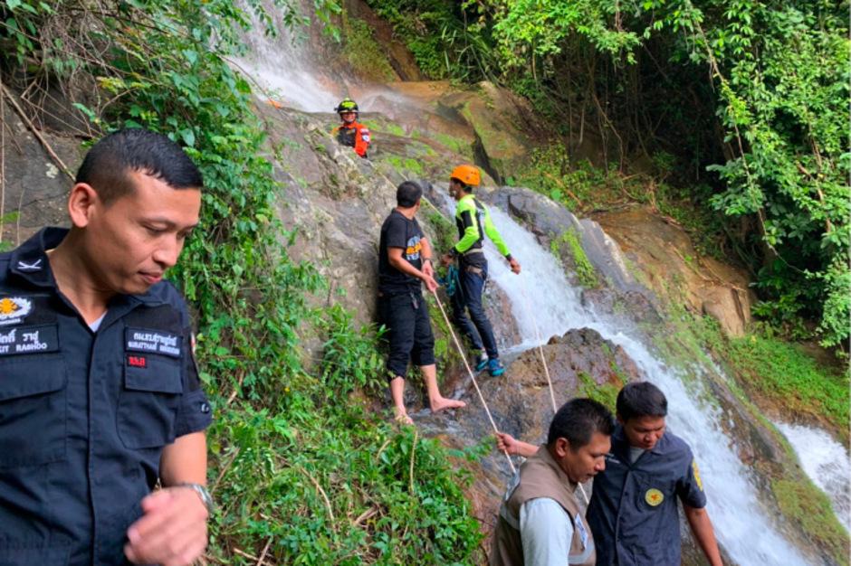 Ein Franzose ist bei einem Wasserfall ausgeruscht und in den Tod gestürzt.