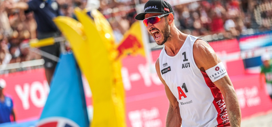 Der Tiroler Beach-Volleyballer Martin Ermacora.