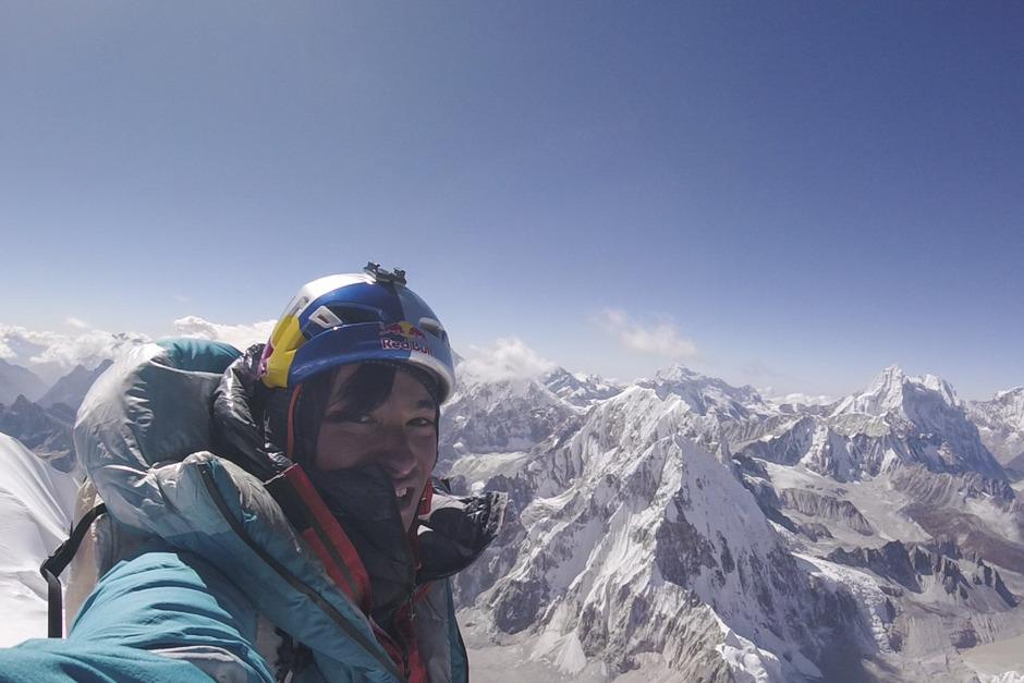 Der Innsbrucker Alpinist David Lama auf einem Archivbild von 2018.