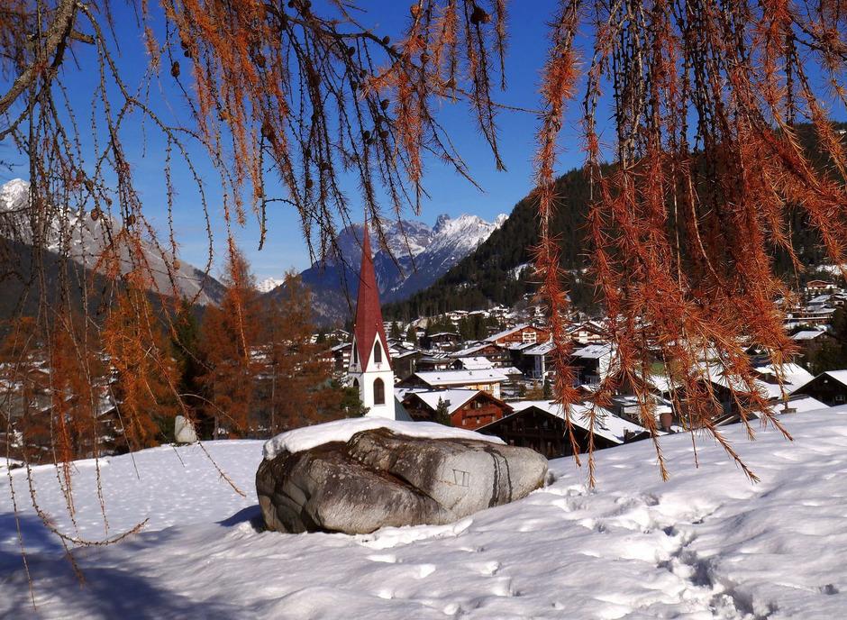 Winterliche Herbststimmung in Seefeld.