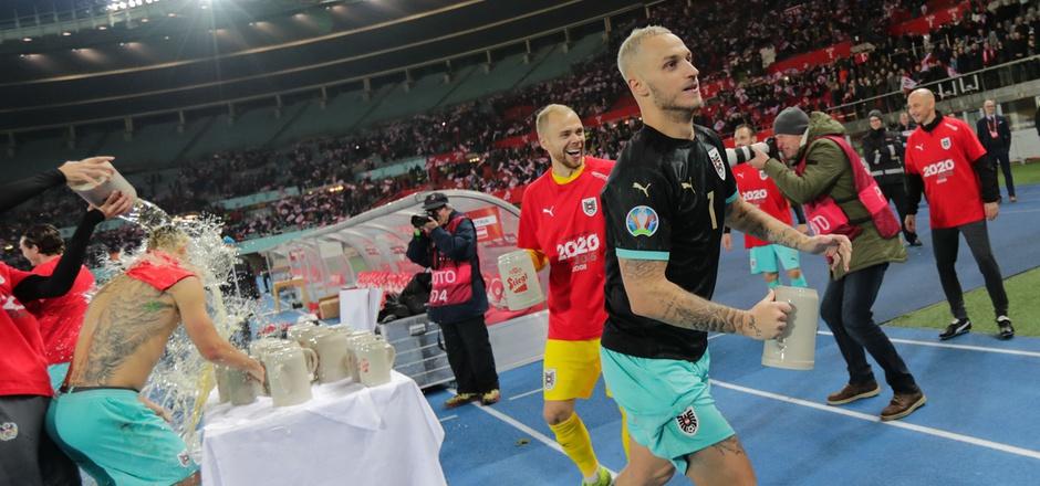Marko Arnautovic und fünf weitere Spieler durften nach der EURO-Feier das Nationalteam in Richtung ihrer Klubs verlassen.